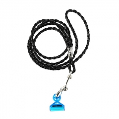 Authentic Demon Killer Lanyard for Juul - Black + Blue