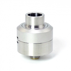 SXK Core Style 22mm 316SS RDA Rebuildable Dripping Atomizer w/ BF Pin - Silver