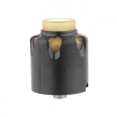 Dead Yellow Jacket Style 28mm RDA Rebuildable Dripping Atomizer w/BF Pin - Black