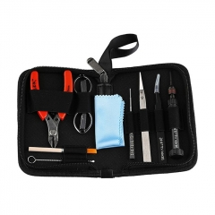 Authentic Demon Killer Vape Tool Kit for Coil Building - Cutter + Scissors + Coil Jig + Tweezers + Screwdriver + Cleaning Tools