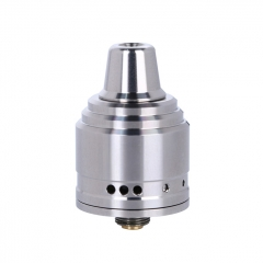 Authentic 5GVape Peace 22mm 316SS RDA Rebuildable Dripping Atomizer w/ BF Pin - Silver