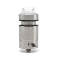 ULTON Isolation Tank Style 26mm RTA Rebuildable Tank Atomizer - Silver