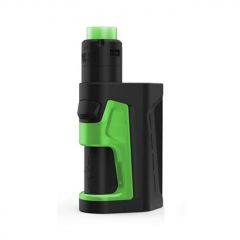 Authentic Vandy Vape Pulse Dual 200W Squonk VW Box Mod + Pulse V2 RDA Kit - Green
