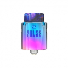 Authentic Vandy Vape Pulse V2 24mm RDA Rebuildable Dripping Atomizer w/BF Pin - Rainbow