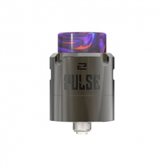 Authentic Vandy Vape Pulse V2 24mm RDA Rebuildable Dripping Atomizer w/BF Pin - Gun Metal