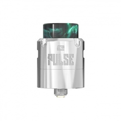 Authentic Vandy Vape Pulse V2 24mm RDA Rebuildable Dripping Atomizer w/BF Pin - Silver