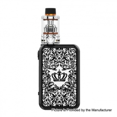 Authentic Uwell Crown 4 IV 200W TC VW Variable Wattage Box Mod+ Crown 4 IV 6ml Tank Kit - White