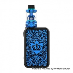 Authentic Uwell Crown 4 IV 200W TC VW Variable Wattage Box Mod+ Crown 4 IV 6ml Tank Kit - Blue