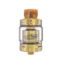 Authentic Oumier Vape Bombus RTA 24.5mm Rebuildable Tank Atomizer 2ml - Gold