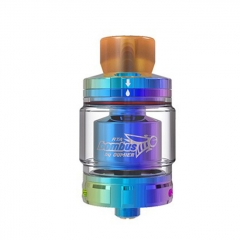 Authentic Oumier Vape Bombus RTA 24.5mm Rebuildable Tank Atomizer 2ml - Rainbow