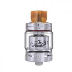 Authentic Oumier Vape Bombus RTA 24.5mm Rebuildable Tank Atomizer 2ml - Silver