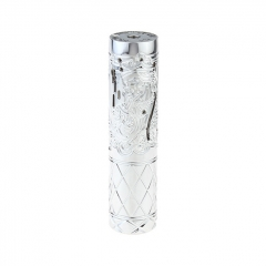 Pur Queen Style 18650/20700 Mechanical Mod 26mm - Silver