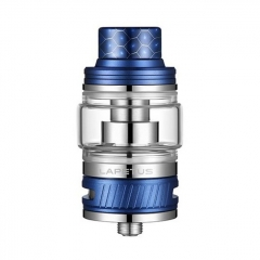 Authentic Nikola Lapetus 25mm Sub Ohm Tank Clearomizer 0.18ohm/6ml - Blue