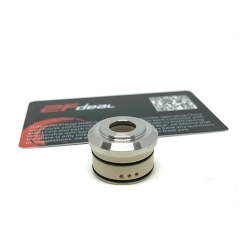 (Ships from Germany)Ulton MTL Stainless Steel Top Cap for Korina 23mm Atomizer - Silver