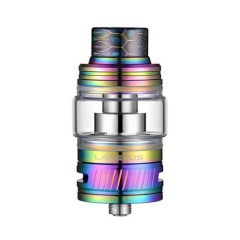 Authentic Nikola Lapetus 25mm Sub Ohm Tank Clearomizer 0.18ohm/6ml - Rainbow