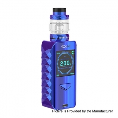 Authentic Digiflavor Edge 200W Wireless Charging TC VW Variable Wattage Box Mod+ Specter Tank 5.5ml Kit - Blue