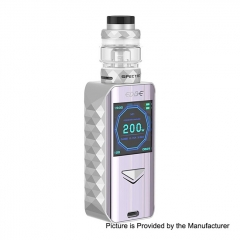 Authentic Digiflavor Edge 200W Wireless Charging TC VW Variable Wattage Box Mod+ Specter Tank 5.5ml Kit - Silver