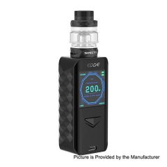 Authentic Digiflavor Edge 200W Wireless Charging TC VW Variable Wattage Box Mod+ Specter Tank 5.5ml Kit - Black