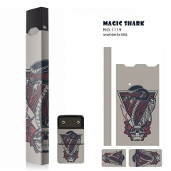 Authentic Vapethink Magic Shark 3M Wrapper Smart Skin Sticker for Juul - No.1119