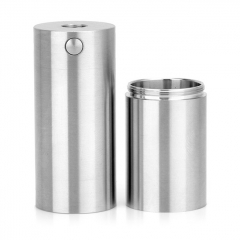 SXK Atto Style 18350/18650 22mm Mechanical Tube Mod - Silver