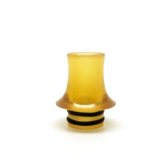 510 Replacement PEI Drip Tip for RDA / RTA / Sub Ohm Tank Atomizer - Yellow