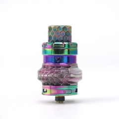 Authentic Advken Manta Mesh 24mm Sub Ohm Tank Atomizer 4.5ml - Rainbow