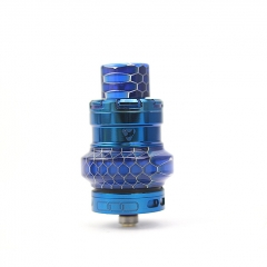 Authentic Advken Manta Mesh 24mm Sub Ohm Tank Atomizer 4.5ml - Blue