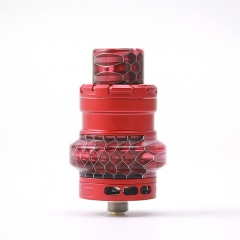 Authentic Advken Manta Mesh 24mm Sub Ohm Tank Atomizer 4.5ml - Red