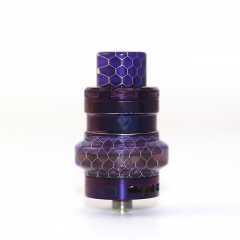 Authentic Advken Manta Mesh 24mm Sub Ohm Tank Atomizer 4.5ml - Purple