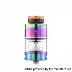 Authentic Hellvape Hell Beast 24mm Subohm Clearomizer 4.5ml - Rainbow