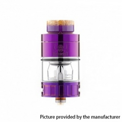 Authentic Hellvape Hell Beast 24mm Subohm Clearomizer 4.5ml - Purple