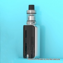 Authentic Vaporesso Luxe Nano 80W 2500mAh TC VW Box Mod + SKRR-S Mini Tank 0.15ohm/3.5ml Kit - Silver
