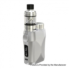 Authentic Eleaf iStick Pico X 75W TC VW APV Box Modw/MELO 4 Tank 2ml/0.15ohm Kit - Silver