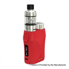 Authentic Eleaf iStick Pico X 75W TC VW APV Box Modw/MELO 4 Tank 2ml/0.15ohm Kit - Red