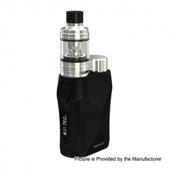 Authentic Eleaf iStick Pico X 75W TC VW APV Box Modw/MELO 4 Tank 2ml/0.15ohm Kit - Black