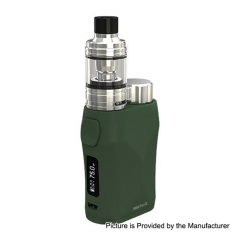 Authentic Eleaf iStick Pico X 75W TC VW APV Box Modw/MELO 4 Tank 2ml/0.15ohm Kit - Green