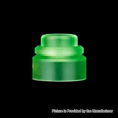 Authentic Gas Mods PMMA Replacement Color Cap for Nova RDA - Green
