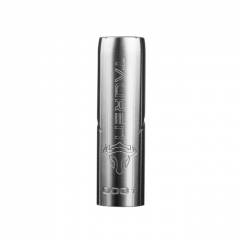 Authentic Thunderhead Creations THC  Tauren 18650/20700/21700 Mechanical Mod - Silver