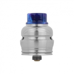 Authentic Wotofo Elder Dragon 22mm RDA RYUJIN RDA Rebuildable Dripping Atomizer w/ BF Pin - Silver
