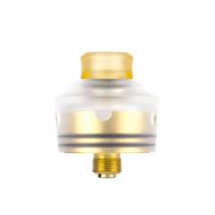 Coil Father King 22mm RDA Rebuildable Dripping Atomizer - White