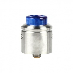 Profile Style 24mm RDA Rebuildable Dripping Atomizer w/ BF Pin - Silver