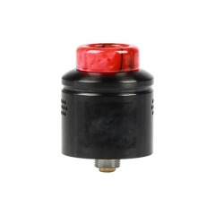 Profile Style 24mm RDA Rebuildable Dripping Atomizer w/ BF Pin - Black