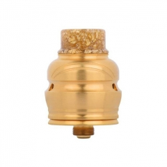 Authentic Wotofo Elder Dragon 22mm RDA RYUJIN RDA Rebuildable Dripping Atomizer w/ BF Pin - Gold