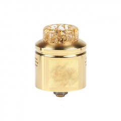 Profile Style 24mm RDA Rebuildable Dripping Atomizer w/ BF Pin - Gold