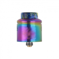 Profile Style 24mm RDA Rebuildable Dripping Atomizer w/ BF Pin - Rainbow