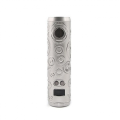 Authentic Teslacigs Punk 86W 18650 Mod 28mm - Silver
