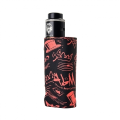 Vapor Storm Eco Pro Mod 80W 25mm VV/VW Temperature Control Mod w/ Hawk Tank 6ml Kit  - Black Haze
