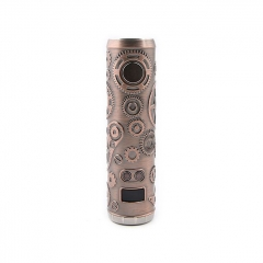 Authentic Teslacigs Punk 86W 18650 Mod 28mm - Antique Copper