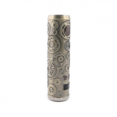 Authentic Teslacigs Punk 86W 18650 Mod 28mm - Antique Brass