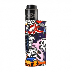 Vapor Storm Eco Pro Mod 80W 25mm VV/VW Temperature Control Mod w/ Hawk Tank 6ml Kit  - Rock